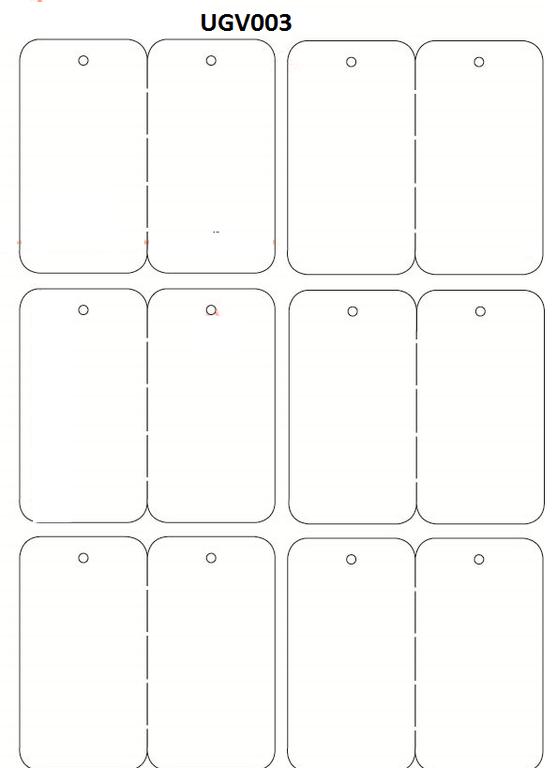 planche tiquettes v tement article avec trou imprimable 48x88. Black Bedroom Furniture Sets. Home Design Ideas