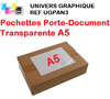 Pochette porte-document A5  NEUTRE