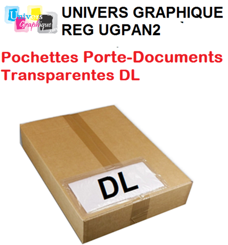 Pochetteporte-document DL NEUTRE