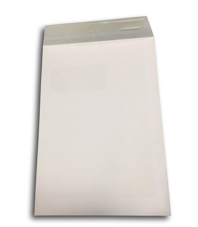 Enveloppe pochette a4 avec fen tre papier blanc 229 x 324 mm for Pellicule autocollante pour fenetre